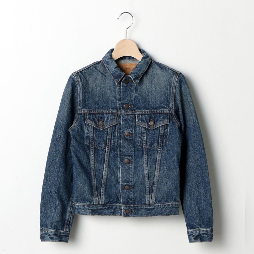 【OUTLET】デニムジャケット USED  WOMEN