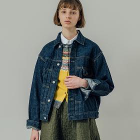 50'S デニムジャケット ONE WASH WOMEN