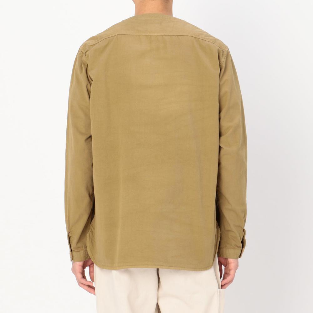 ノーカラーワークシャツ MEN