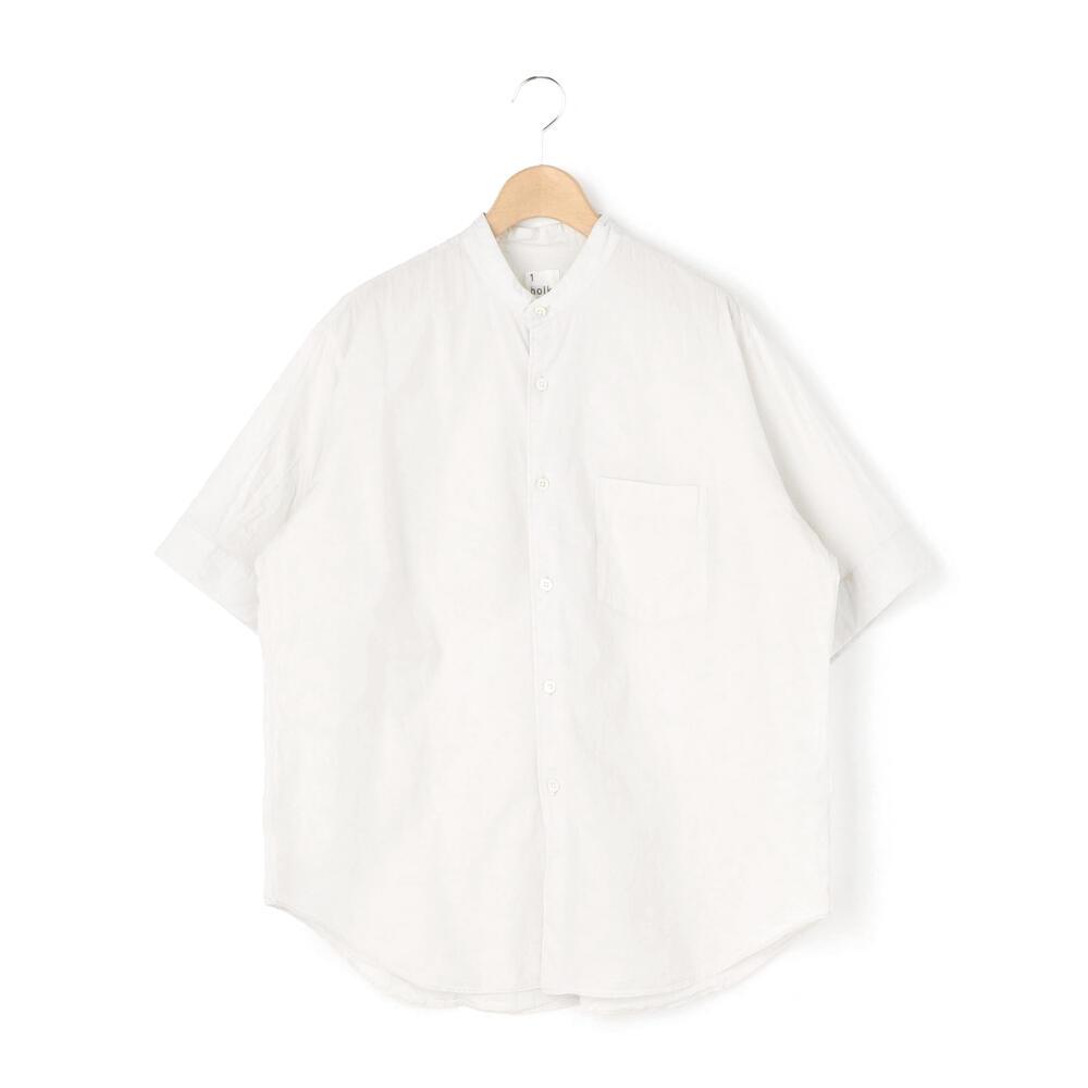 ショートスリーブスタンドシャツ WOMEN