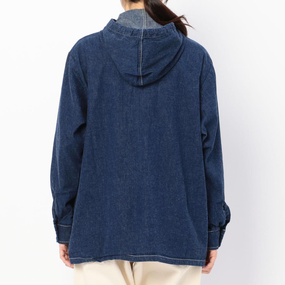 デニムフーデッドジャケット WOMEN