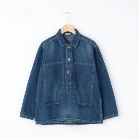 プルオーバーシャツジャケット USED WOMEN