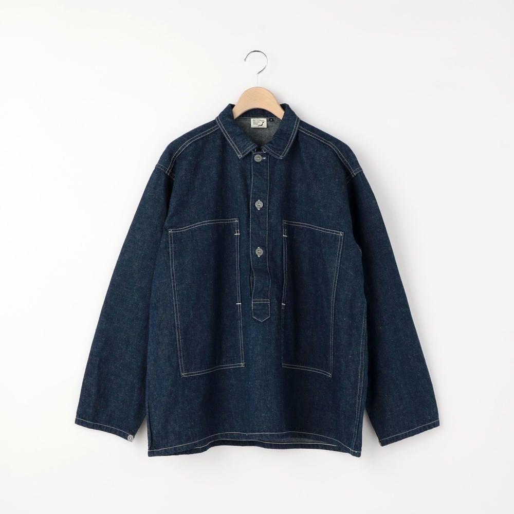 プルオーバーシャツジャケット ONE WASH MEN