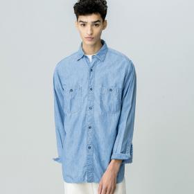 シャンブレーワークシャツ MEN