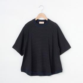 シャドーボーダーTシャツ WOMEN