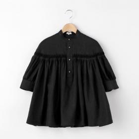 〈別注〉半袖リネンタックシャツ WOMEN