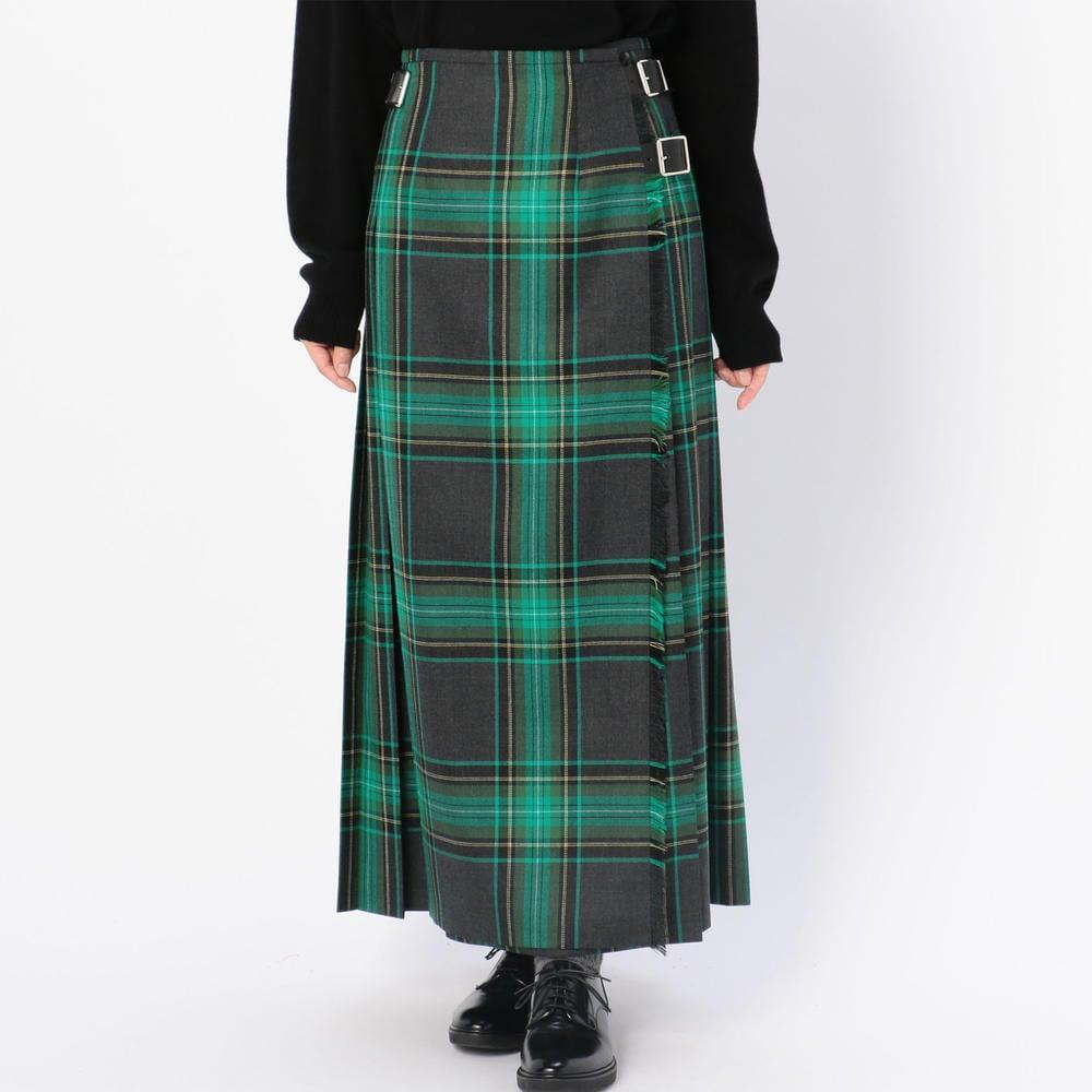 ロングキルトスカート WOMEN