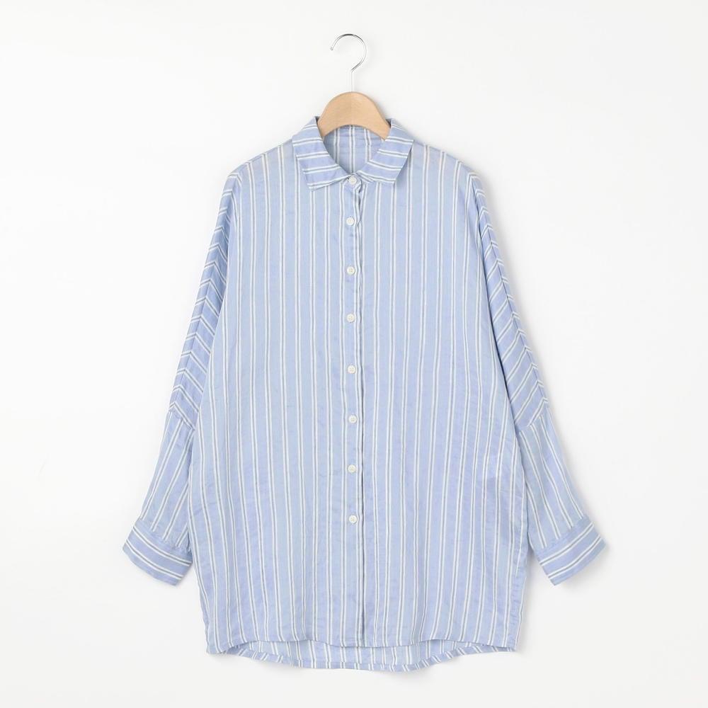 レギュラーカラーシャツ STRIPE WOMEN