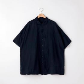 半袖スクエアシャツ NAVY MEN