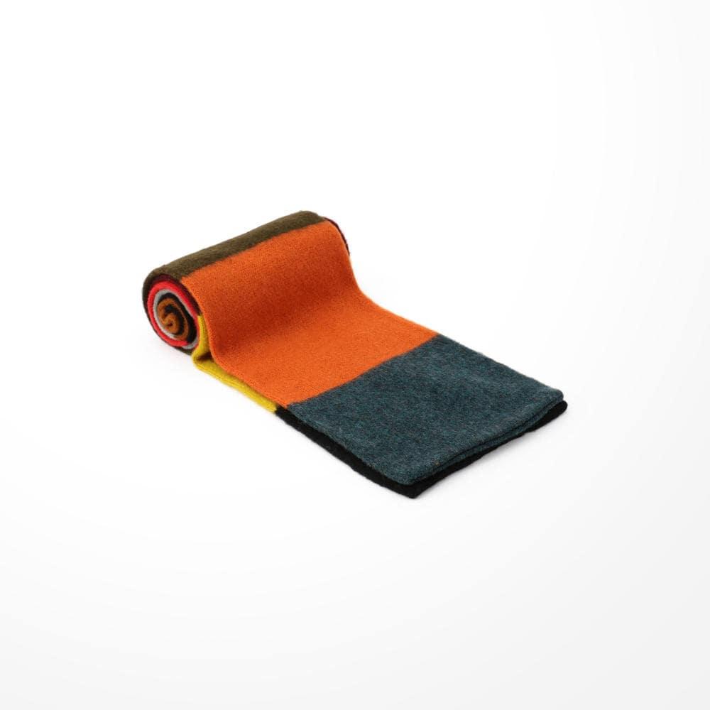 カラーブロックマフラー 200×19
