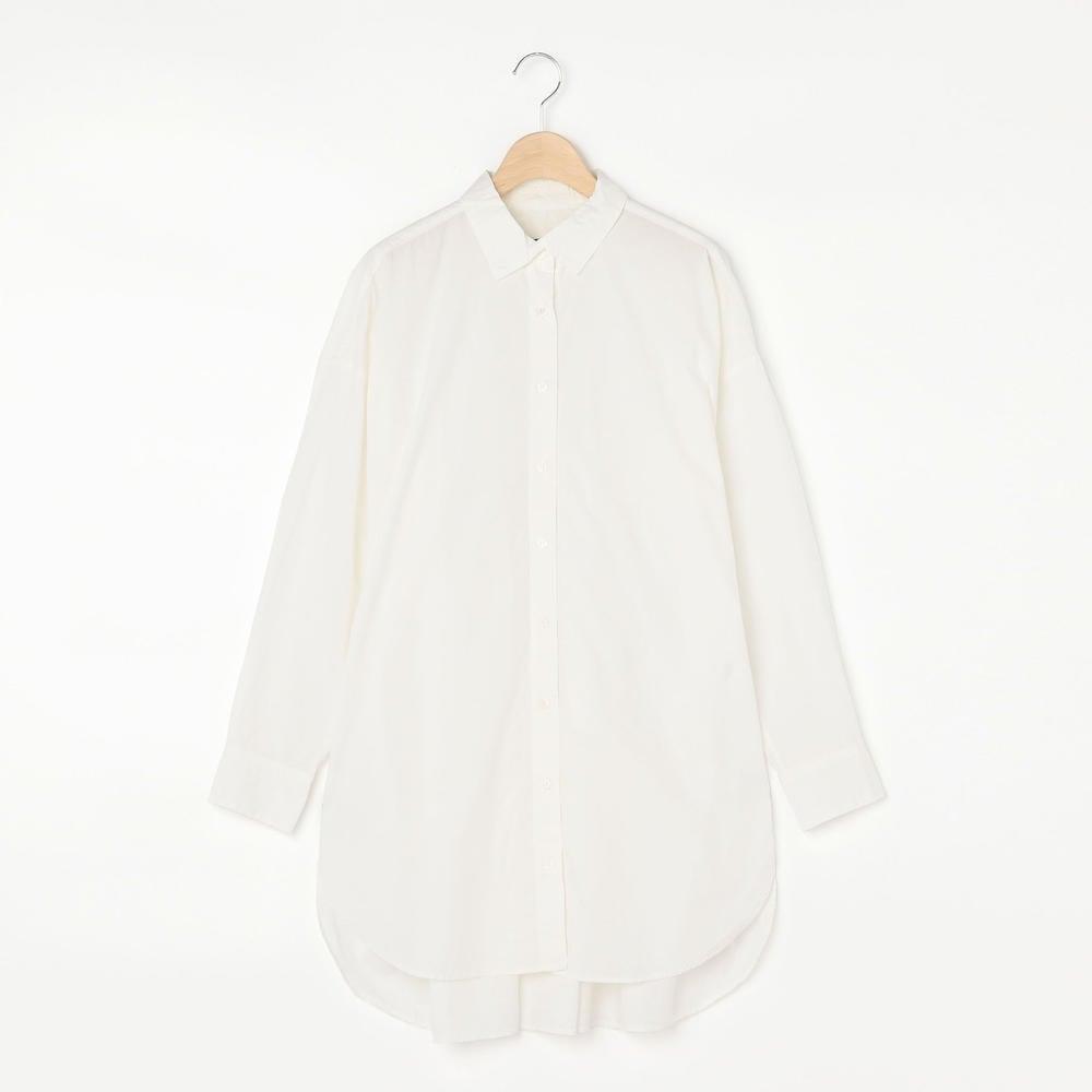 レギュラーカラー ロングシャツ WOMEN