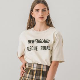 〈別注〉Rescue 半袖Tシャツ WOMEN