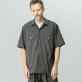 ウール半袖シャツ MEN