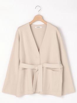 カラーレス ニットジャケット WOMEN