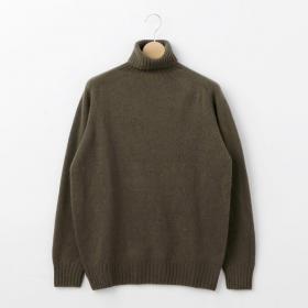 ジーロンラム タートルネックセーター MEN