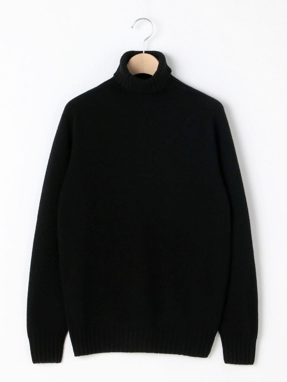 ジーロンラム タートルネックセーター WOMEN