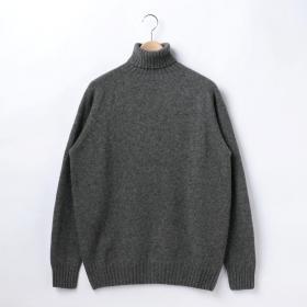 ジーロンラム タートルネックセーター MV MEN