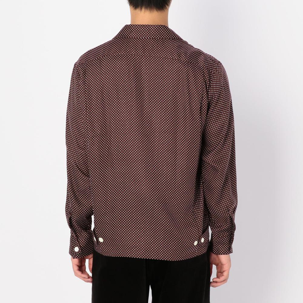 ドットオープンカラーシャツ MEN