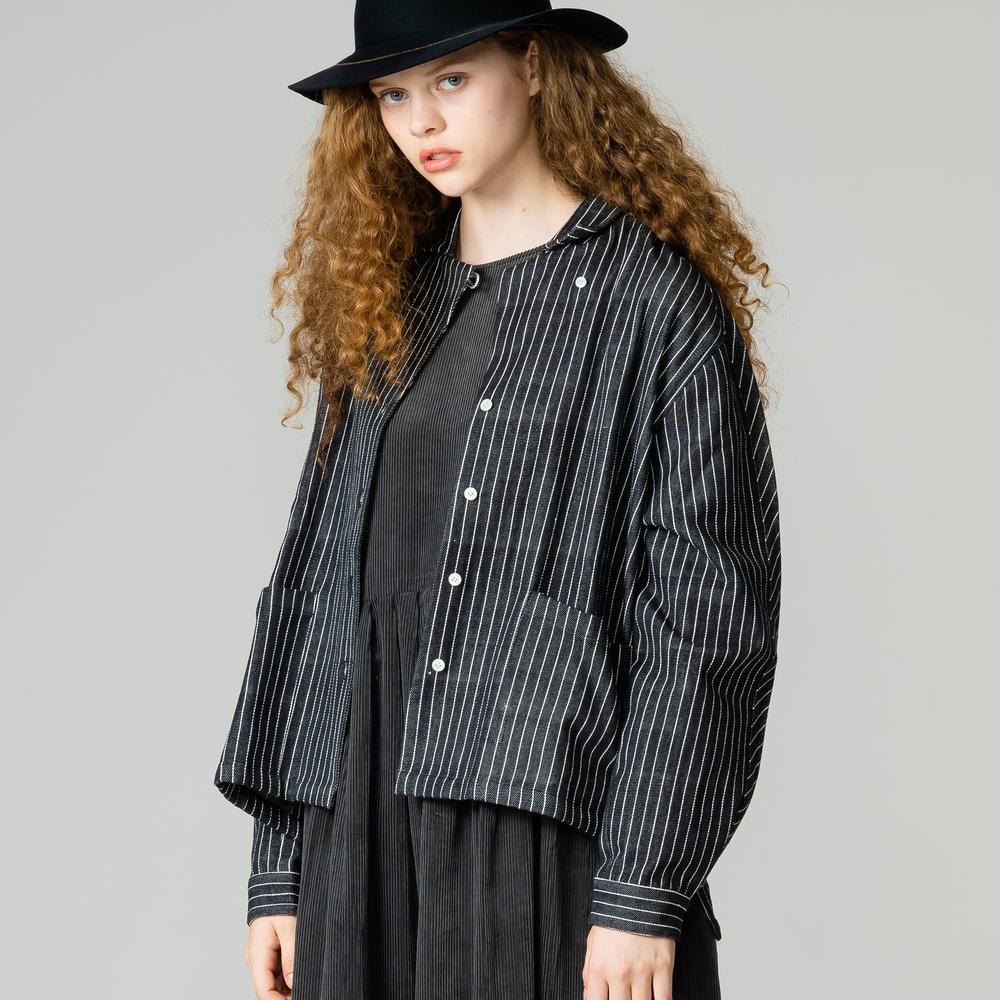 パッチポケットワークシャツ WOMEN