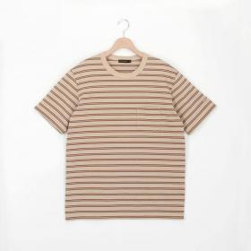 【OUTLET】〈別注〉マルチボーダーポケットTシャツ MEN
