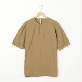 〈別注〉鹿の子ヘンリーネックTシャツ MEN