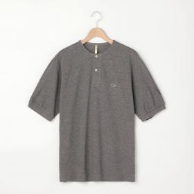 コットンピケヘンリーネックTシャツ MEN