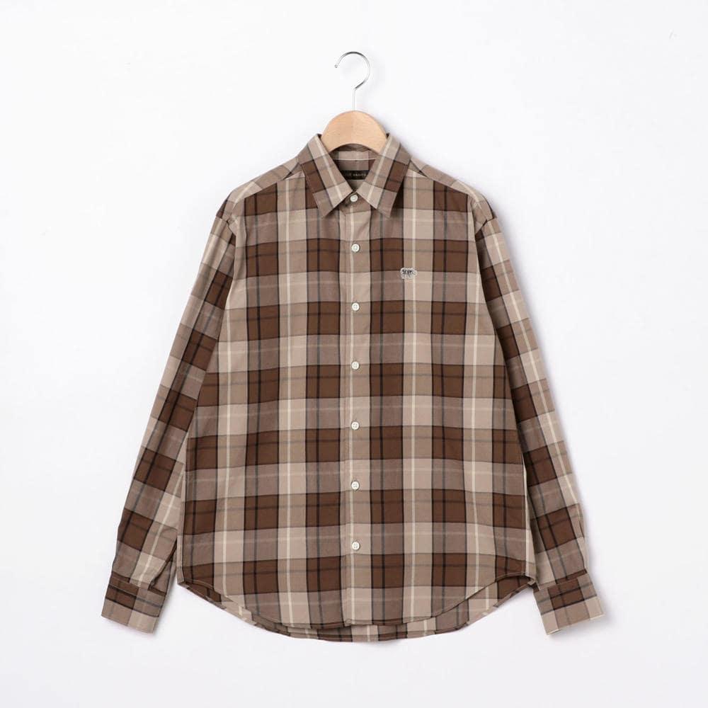 オックスフォード チェックシャツ WOMEN