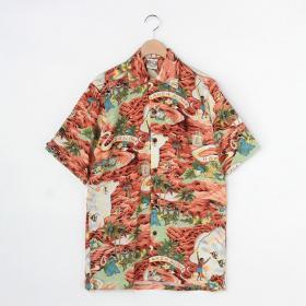 【OUTLET】〈別注〉オープンカラーシャツ MEN