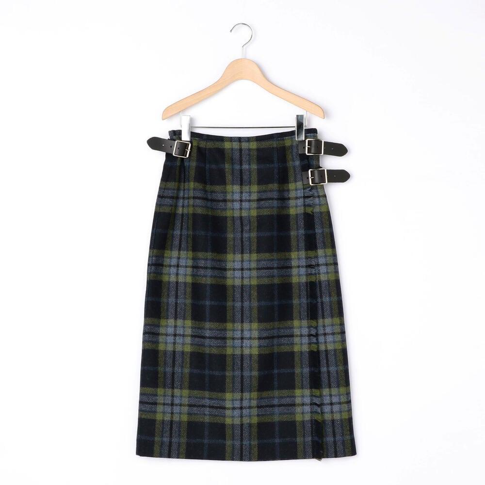 ラップスカート TARTAN WOMEN