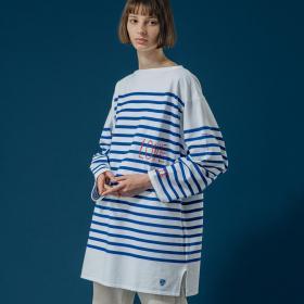 【フェア対象】BIGラッセルフレンチセーラーTシャツ LOVE