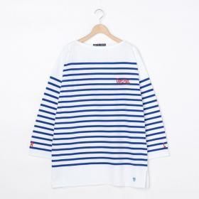 BIGラッセルフレンチセーラーTシャツ R&L