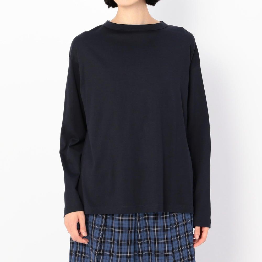【OUTLET】ボトルネック長袖Tシャツ WOMEN