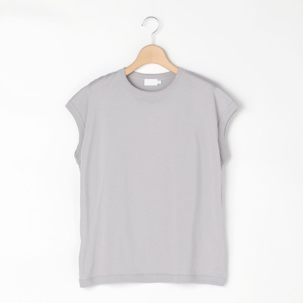 クルーネック スリーブレスTシャツ SOLID WOMEN