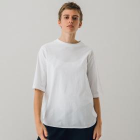 ラウンドテール ロングTシャツ WOMEN