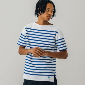 ラッセル フレンチセーラー半袖Tシャツ MEN