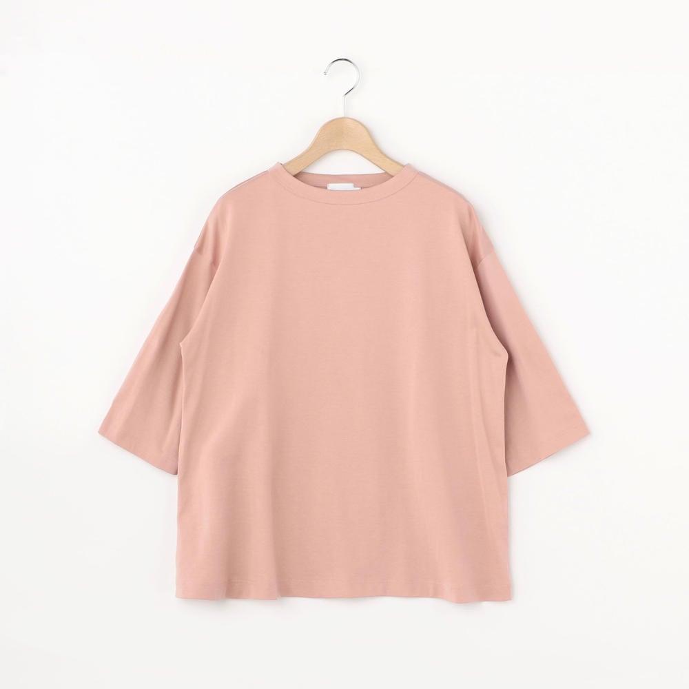 【OUTLET】ボトルネック ハーフスリーブTシャツ SO WOMEN