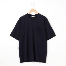 クルーネック 半袖ポケットTシャツ SOLID MEN