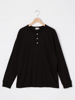 ヘンリーネック長袖Tシャツ MEN