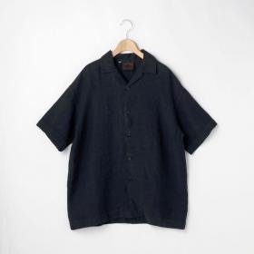 【先行予約】オープンカラー リネンシャツ MEN