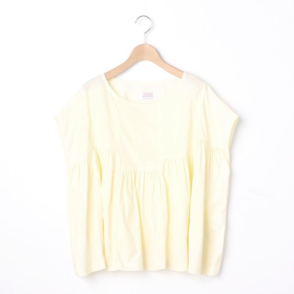 【OUTLET】プルオーバー ギャザーシャツ WOMEN
