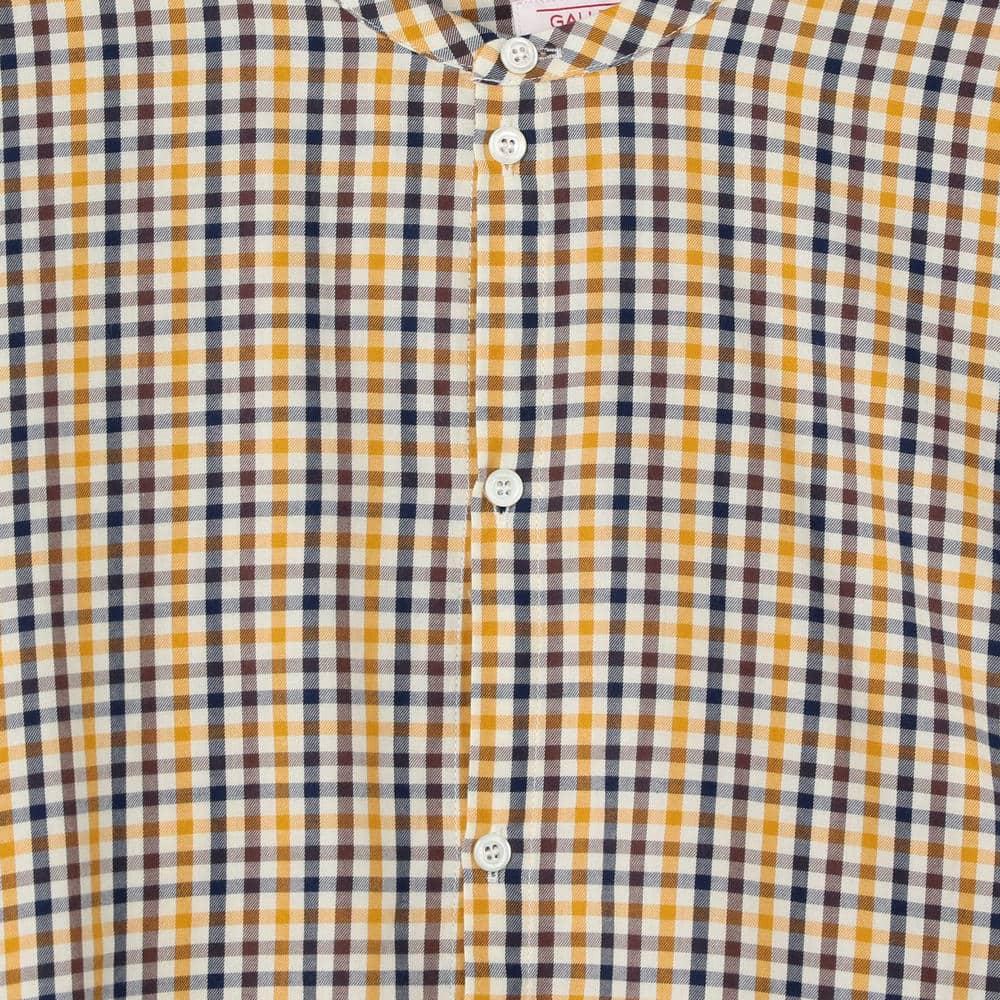ラージ バンドカラーシャツ MEN