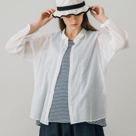 レギュラーカラーシャツ WOMEN