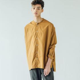 ラージバンドカラーシャツ MEN