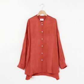 ラージバンドカラーシャツ WOMEN