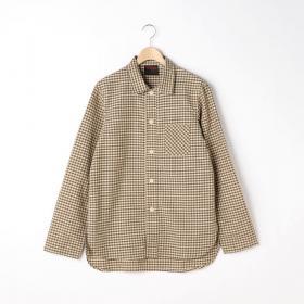 〈別注〉ギンガムチェック シャツジャケット MEN