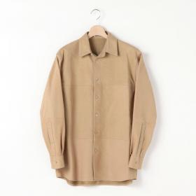 ヌバックレザー ビッグシャツ MEN