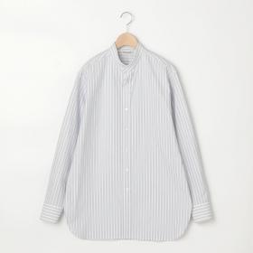 スタンドカラーシャツ STRIPE WOMEN