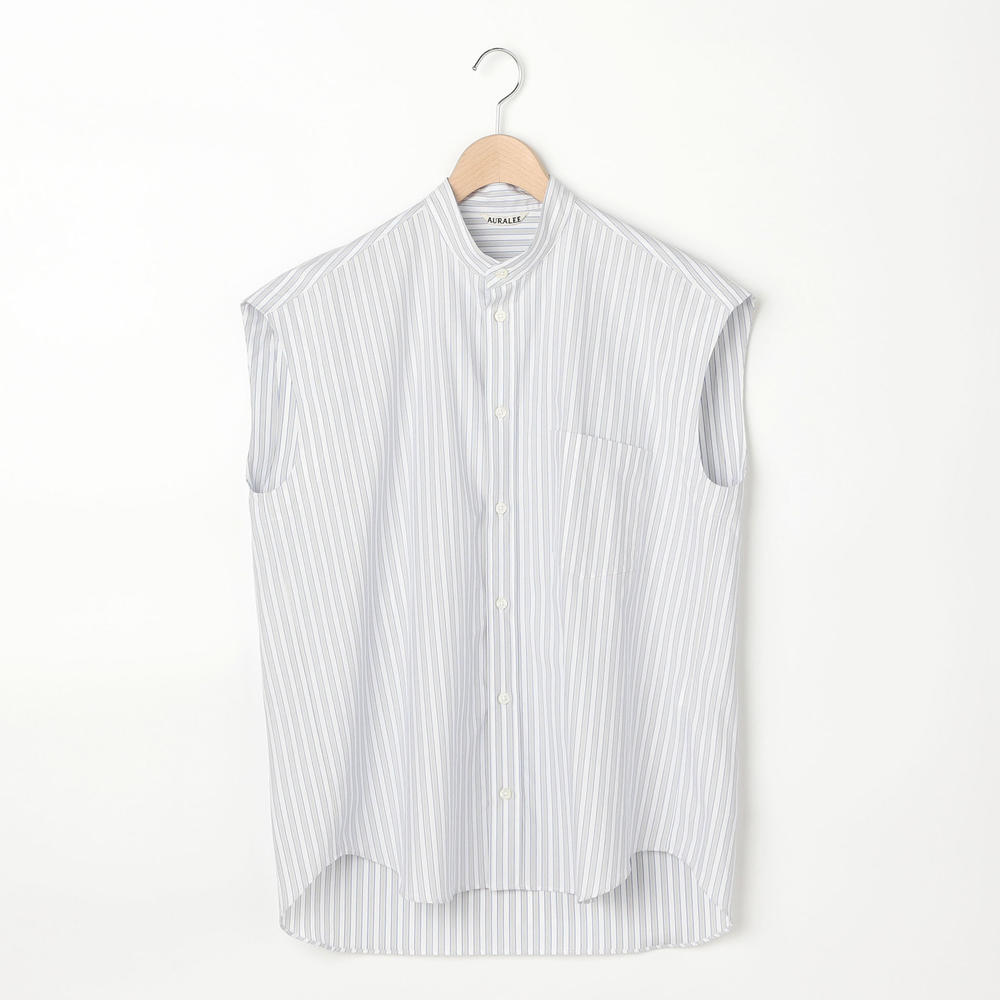 スリーブレスシャツ STRIPE WOMEN
