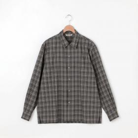 スーパーライトウール チェックシャツ MEN