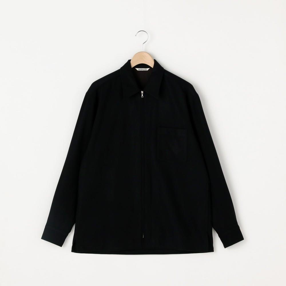 フランネルジップシャツ MEN